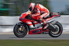 Raza principal de BRNO - de Nicky Hayden de MotoGP Fotografía de archivo