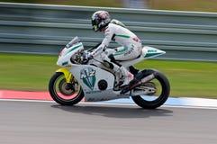 Raza principal máxima de Neukirchner de Moto2 Imágenes de archivo libres de regalías