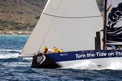 Raza Team Clean Seas del océano de Volvo Imagenes de archivo