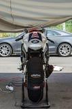 razas de la motocicleta del Carretera-anillo Foto de archivo libre de regalías