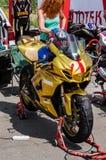 razas de la motocicleta del Carretera-anillo Imagen de archivo