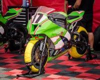 razas de la motocicleta del Carretera-anillo Fotos de archivo