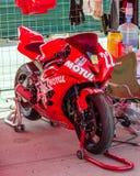 razas de la motocicleta del Carretera-anillo Imágenes de archivo libres de regalías