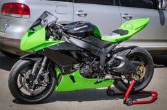 razas de la motocicleta del Carretera-anillo Imagen de archivo libre de regalías