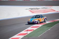 Razas del entrenamiento del coche de alta velocidad Imagen de archivo
