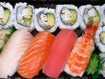razem sushi. Obrazy Stock