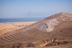 Razim lake seen from Heracleea Stock Photos