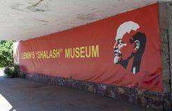 RAZLIV RYSSLAND - AUGUSTI 15, 2015: Foto av Lenin ` s Arkivbild