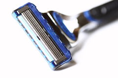 Razor. Photograph of a manual razor blade royalty free stock photos