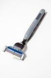 Razor. Series object on white: isolated razor Royalty Free Stock Photo