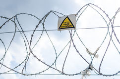 Barbed-wire  Stock Photo