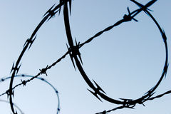 Razor Barbed Wire Stock Image