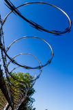 Razor Wire Barrier Royalty Free Stock Image