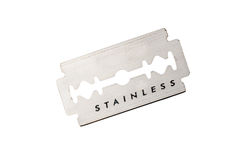 Razor blade Royalty Free Stock Photo