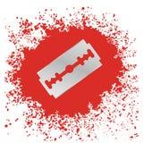 Razor Blade Icon Stock Image