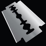 Razor blade Royalty Free Stock Images