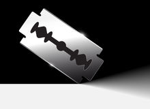 Razor blade Royalty Free Stock Photography