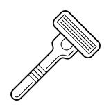 Razor, bladed tool for shaving Stock Images