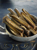Razor clams Stock Images