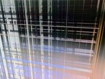 Razor curtain abstract Stock Image