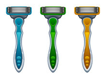 Razor set Royalty Free Stock Photography