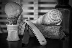 Razor shaving accessories razor Royalty Free Stock Photos