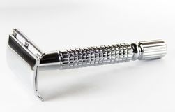 Razor from steel  Stock Photos