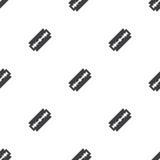 Razor, vector seamless pattern Royalty Free Stock Photos