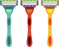 Razor Vector Royalty Free Stock Photography