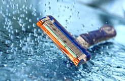 Razor in water Royalty Free Stock Photos