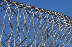 Razor wire Royalty Free Stock Photos