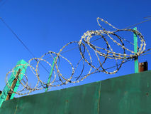 Razor wire Stock Images