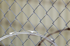 Razor Wire Stock Photo