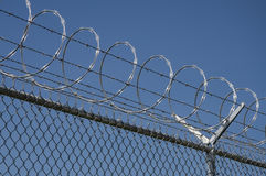 Razor wire Royalty Free Stock Photo