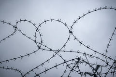 Free Razor Wire Royalty Free Stock Photography - 54465857