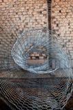 Razor wire coil Stock Images