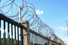 Razor wire Stock Photography