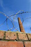 Razor wire 1 Royalty Free Stock Photos