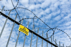 Razor Wire Royalty Free Stock Images