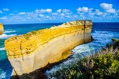The razorback in Great Ocean Road Australia. The razorback in Great Ocean Road which is in Australia Stock Image