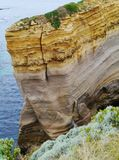 The razorback of the Loch Ard Gorge Stock Image