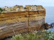 The razorback of the Loch Ard Gorge Royalty Free Stock Image