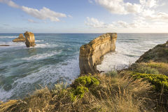 The Razorback at Loch Ard Gorge, Great Ocean Road, Australia Stock Image