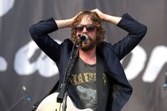 Razorlight ( English indie rock band) performs at FIB Festival Stock Photo