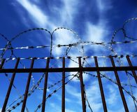 Razorwire Royalty Free Stock Photos