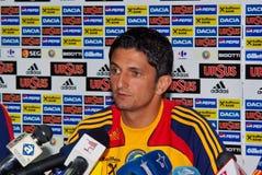 Razvan Lucescu - football manager Royalty Free Stock Photo