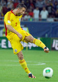Razvan Rat in Romania-Turkey World Cup Qualifier Game Royalty Free Stock Photos