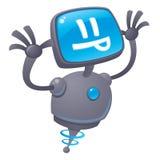 Razz-Roboter Lizenzfreie Stockfotos