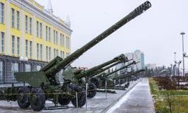 Razzi della forza di difesa weapon.antiaircraft Fotografie Stock Libere da Diritti