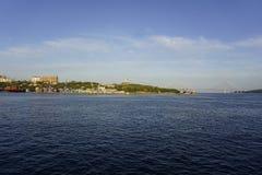 Razzian av Vladivostok Arkivfoton